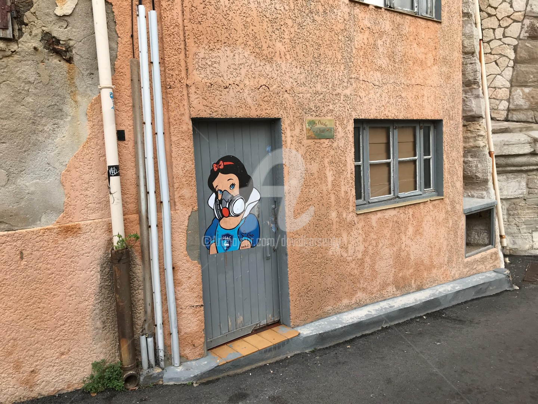 DAVID KARSENTY - Collage à Marseille