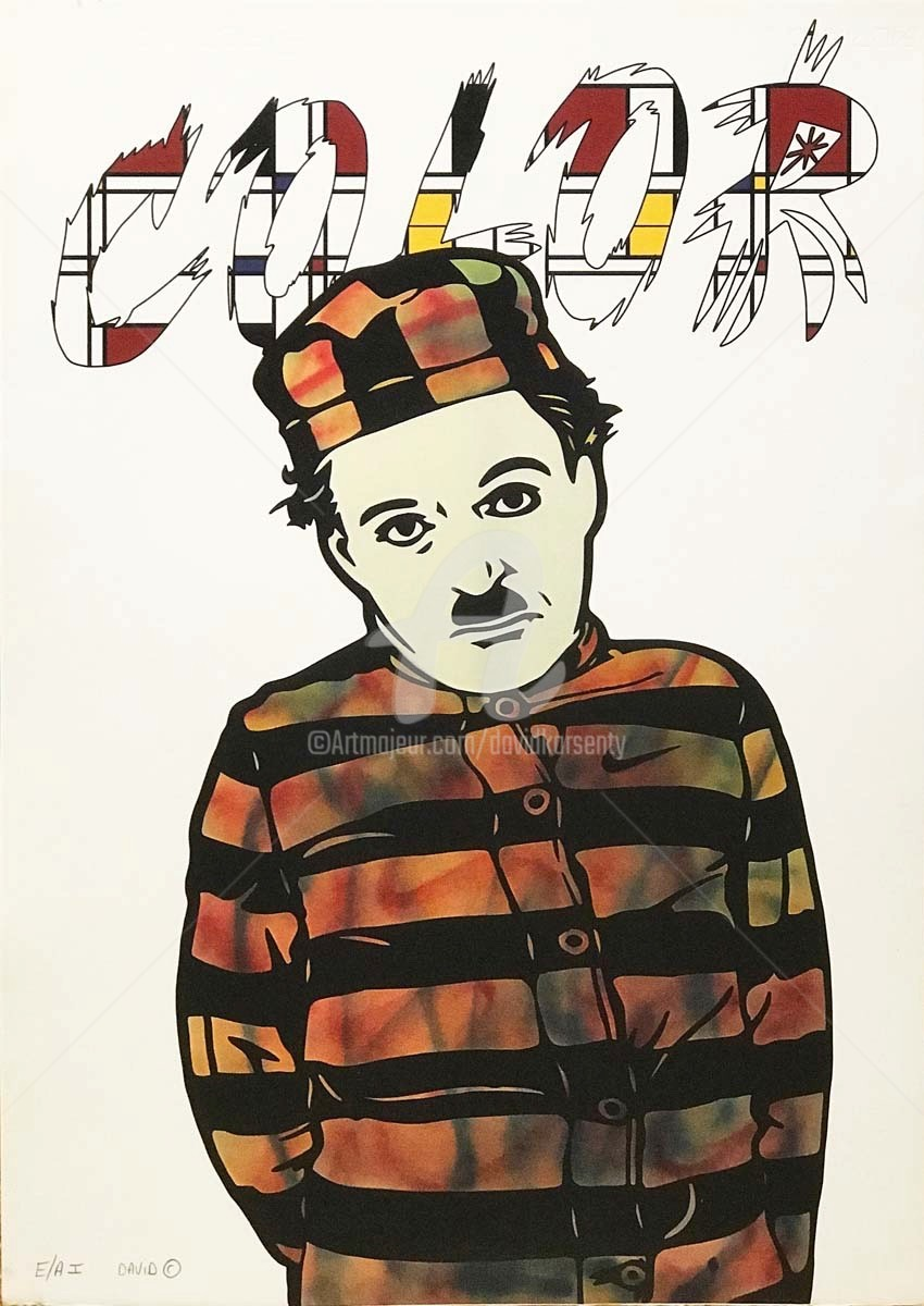 David Karsenty - Charlie Chaplin Mondrian