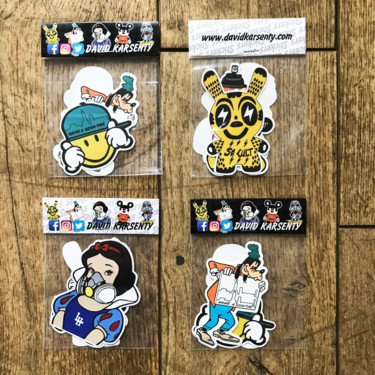 "Pack de stickers "" SO CULT """