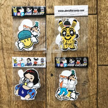 "Pack de stickers "" SO CULT """